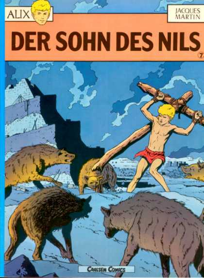 Alix 7 - Der Sohn Des Nils - Cross - Carlsen Comics - Creatures - Red Shorts