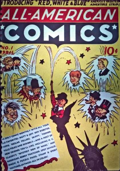 All-American Comics 1 - Sheldon Mayer