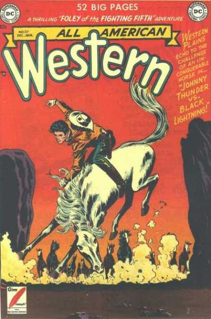 All-American Comics - All American Western - All American Western - Western - Fighting Fifth - Dc - Adventure