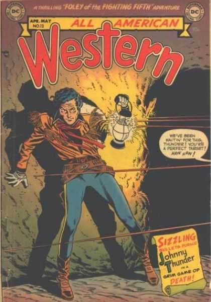 All-American Comics - All American Western - Western - Foley Of The Fighting Fifth - Johnny Thunder - Grim Game Of Death - Dc