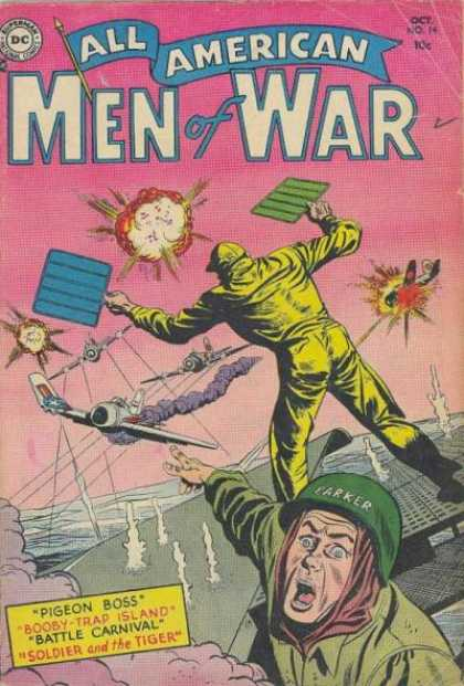 All-American Comics - All American Men of War - 1942 - War Times - Invasion - Defense - Take Over