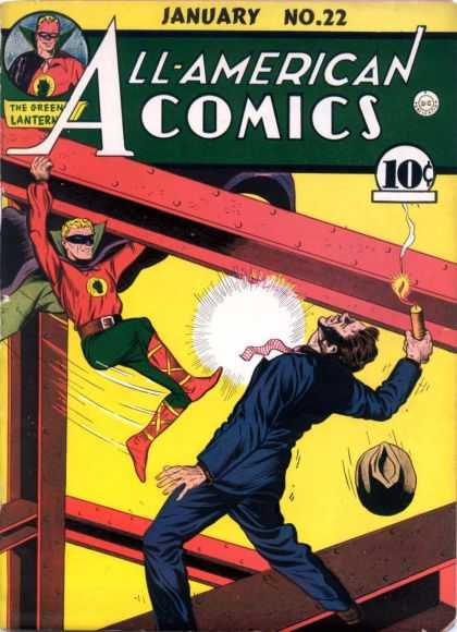 All-American Comics 22 - The Green Latern - Fix The Fight Game - January 1941 - Mark Karaste - Irene Miller - Sheldon Moldoff
