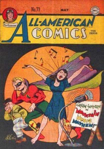 All-American Comics 73 - Green Lantern - Singer - Music - Awful - Stage