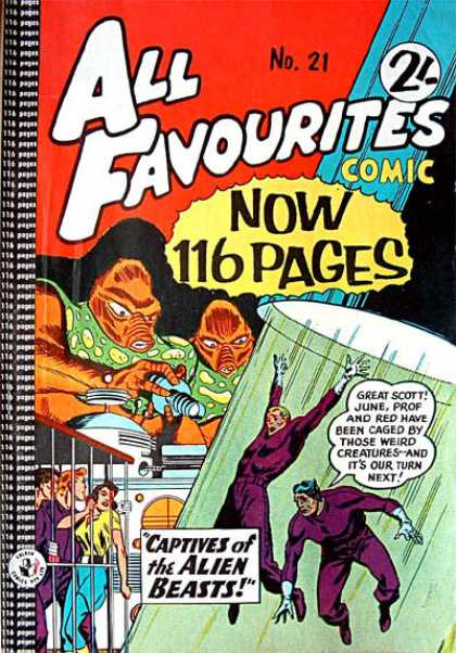 All Favourites Comic 14