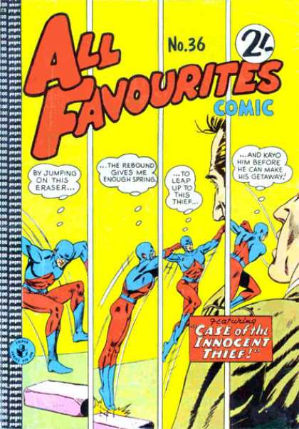 All Favourites Comic 25