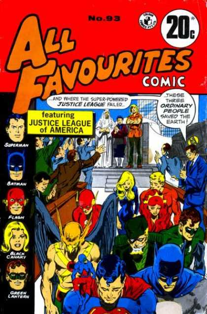 All Favourites Comic 42
