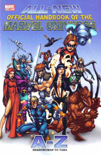 All-New Official Handbook of the Marvel Universe 10