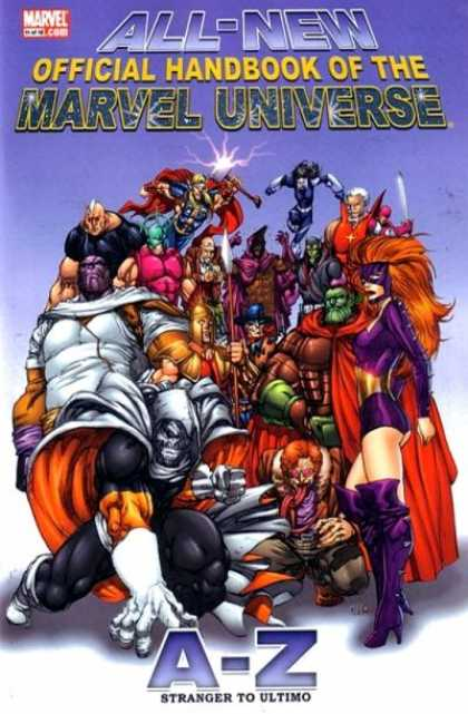 All-New Official Handbook of the Marvel Universe 11