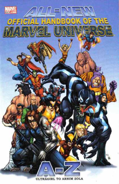 All-New Official Handbook of the Marvel Universe 12