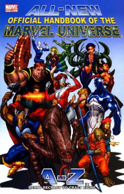 All-New Official Handbook of the Marvel Universe 2