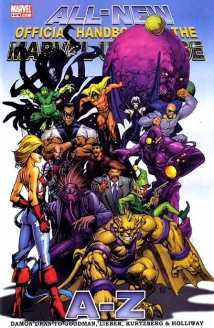 All-New Official Handbook of the Marvel Universe 4