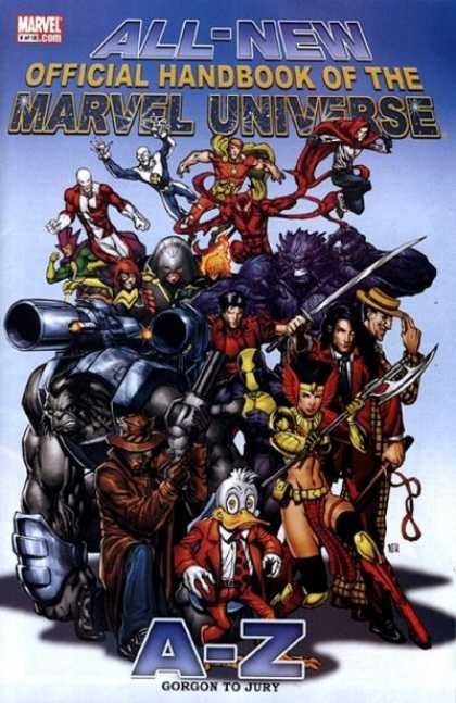 All-New Official Handbook of the Marvel Universe 5