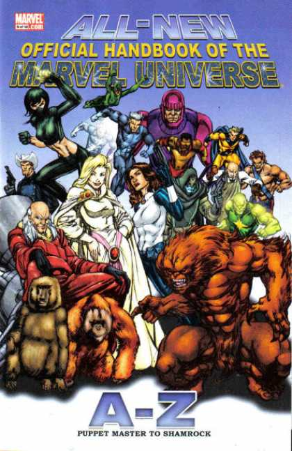 All-New Official Handbook of the Marvel Universe 9