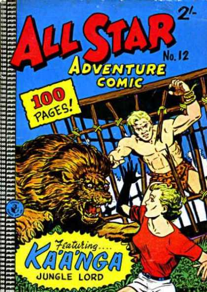 All Star Adventure Comic 12