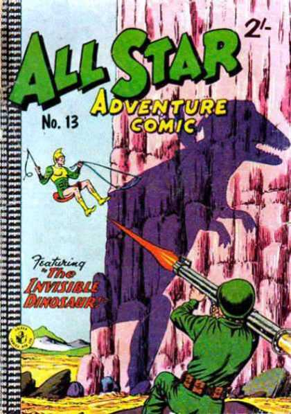 All Star Adventure Comic 13