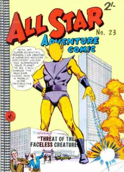 All Star Adventure Comic 23