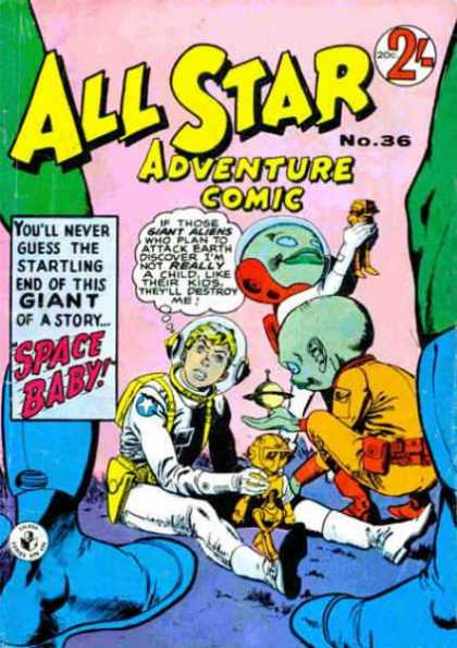 All Star Adventure Comic 36