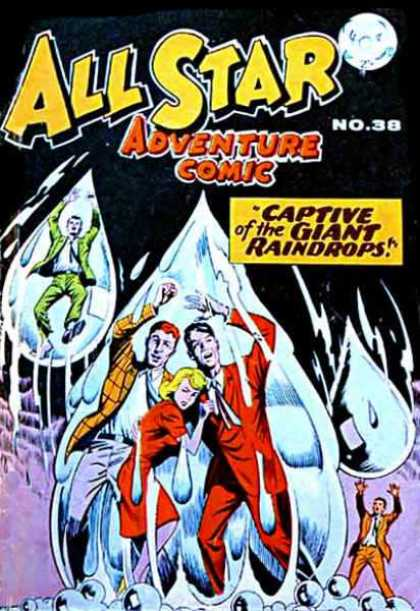 All Star Adventure Comic 38