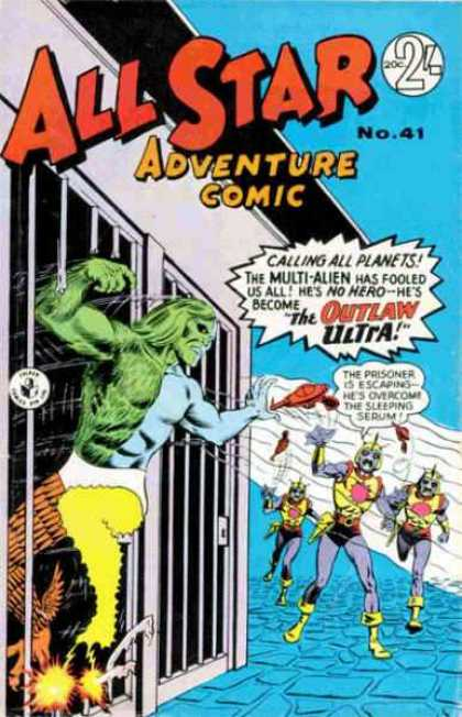 All Star Adventure Comic 41