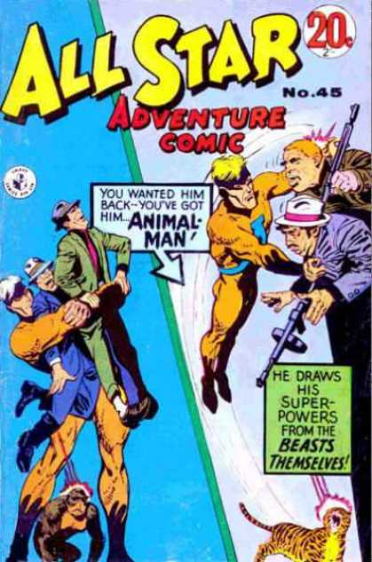 All Star Adventure Comic 45