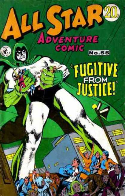 All Star Adventure Comic 55