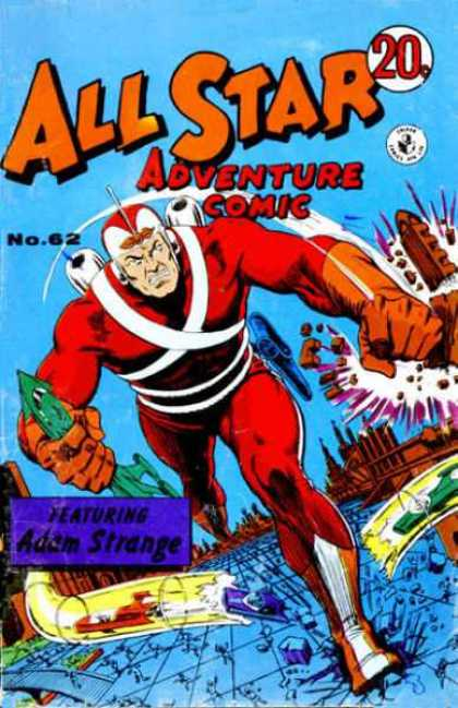 All Star Adventure Comic 62 - Somebody Stop Me - Real Danger - Lets Party In Danger - Hero Of The Century - Cuming To The Hell
