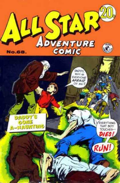 All Star Adventure Comic 68