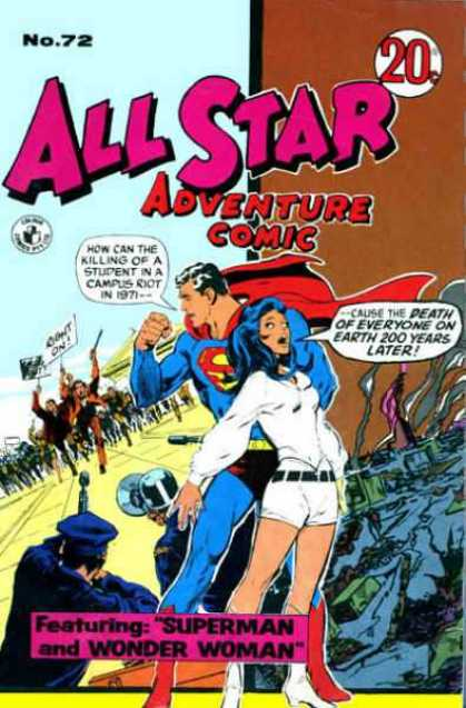 All Star Adventure Comic 72