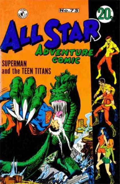 All Star Adventure Comic 73