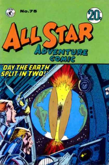 All Star Adventure Comic 75
