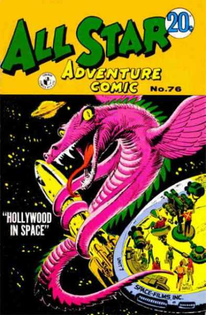 All Star Adventure Comic 76