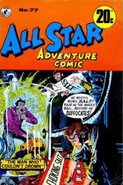 All Star Adventure Comic 77