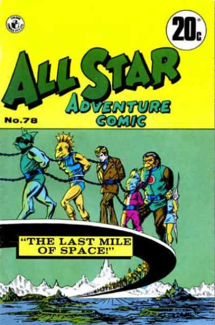 All Star Adventure Comic 78