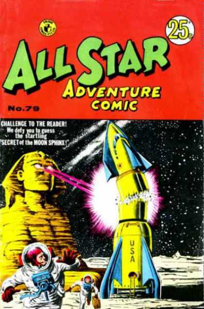 All Star Adventure Comic 79