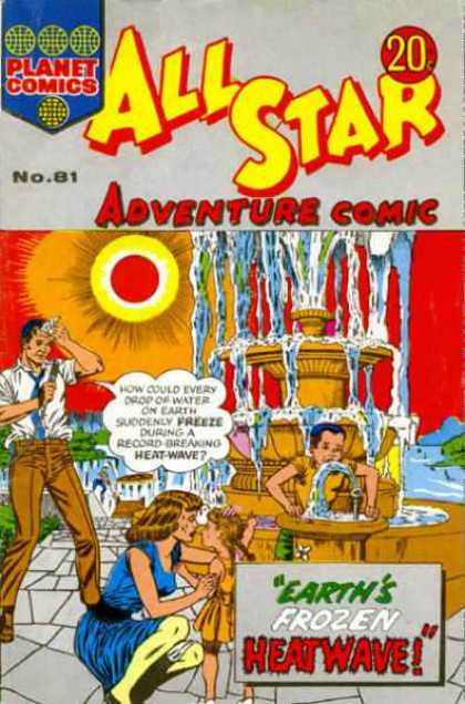 All Star Adventure Comic 81 - Plsun - No8 - Water - Earths Frozen - Heata-wave