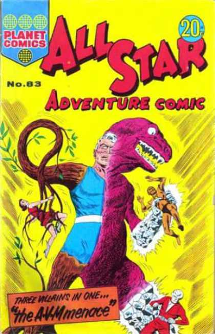 All Star Adventure Comic 83
