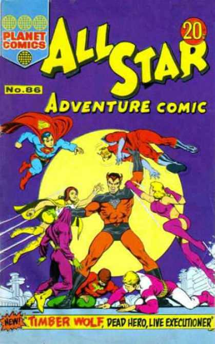 All Star Adventure Comic 86