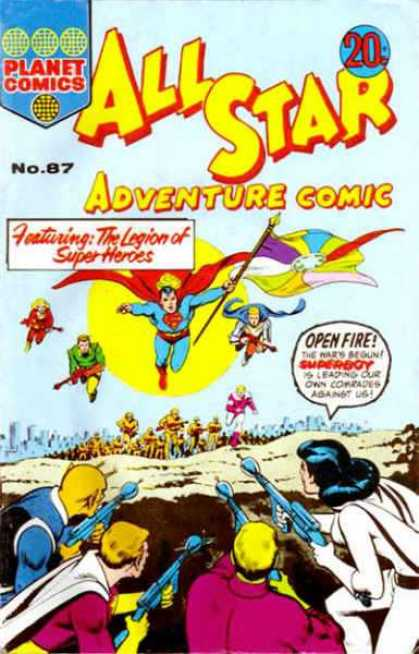All Star Adventure Comic 87