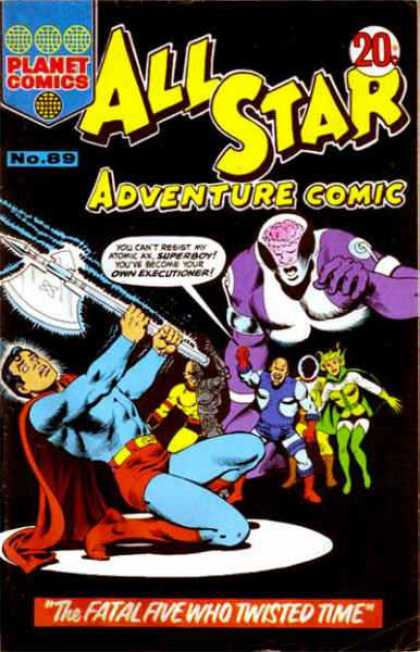All Star Adventure Comic 89
