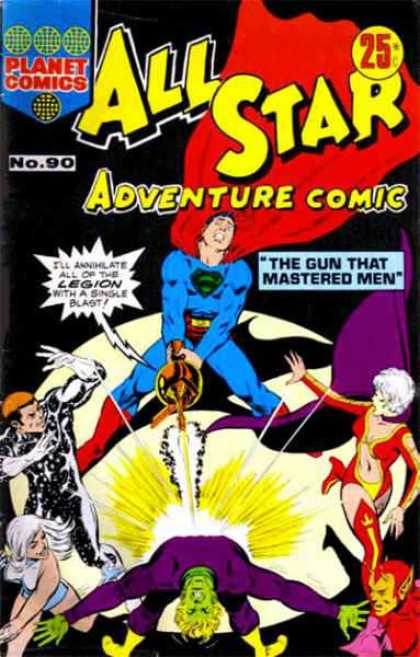 All Star Adventure Comic 90