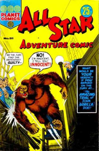 All Star Adventure Comic 91