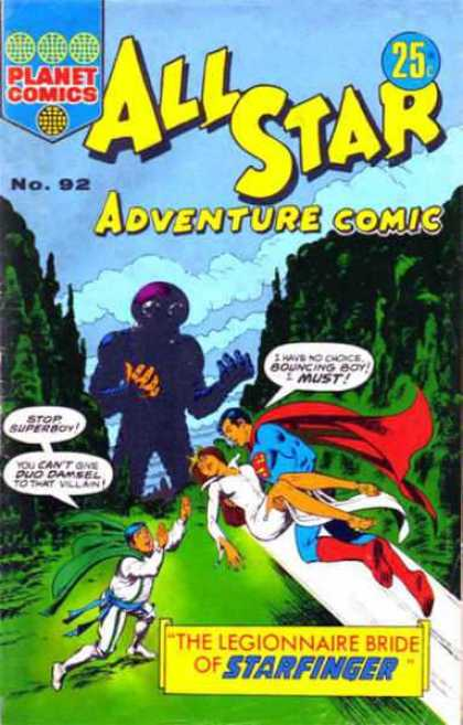 All Star Adventure Comic 92