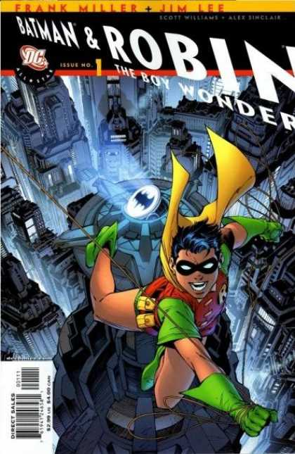 All-Star Batman & Robin, the Boy Wonder 1