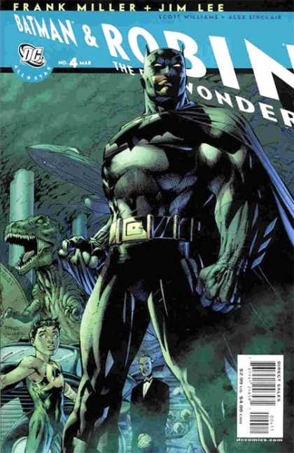 All-Star Batman & Robin, the Boy Wonder 4 - Alex Sinclair, Jim Lee