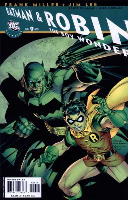 All-Star Batman & Robin, the Boy Wonder 9 - Alex Sinclair, Jim Lee