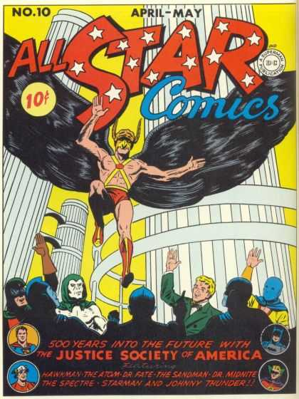 All Star Comics 10