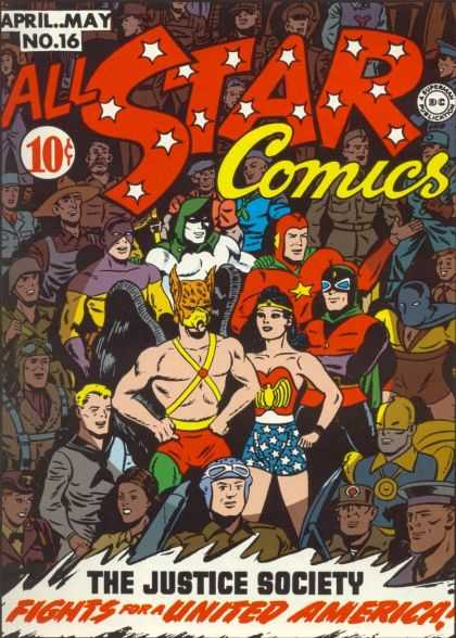 All Star Comics 16