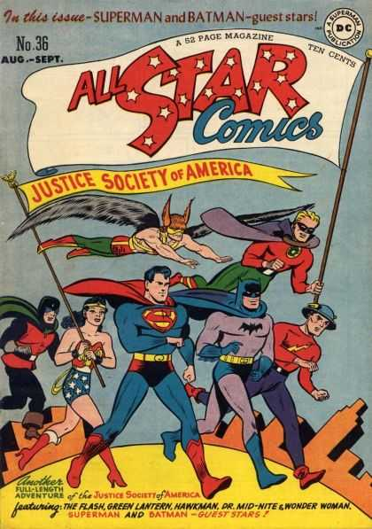All Star Comics 36