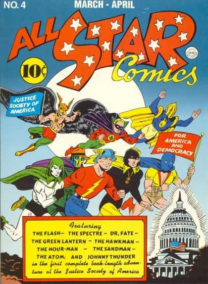 All Star Comics 4