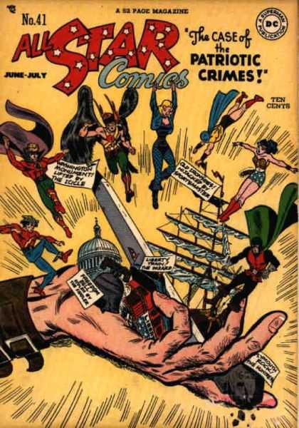 All Star Comics 41 - Alex Toth